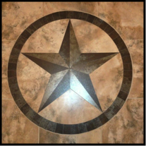 Texas Star Medallion Hand Crafted In